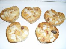 Muffinki z ananasem i musli
