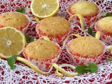 Muffinki z białek cytrynowo-pomarańczowe
