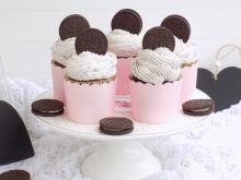 Muffinki z ciasteczkami ,,Oreo''