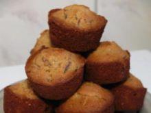 Muffinki z cieciorką i gruszkami