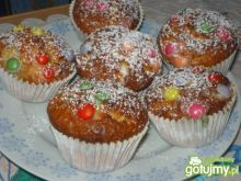 Muffinki z cukierkami