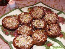 Muffinki z czekoladą i nutellą