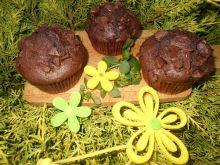 Muffinki z czereśniami i czekoladą