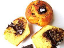 Muffinki  z  dodatkiem słonej czekolady
