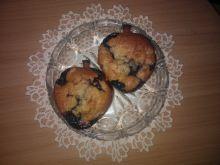 Muffinki z gruszkami i borówką amerykańską