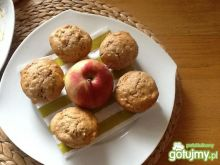 Muffinki z jabłkami i cynamonen