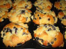 Muffinki z jagodami i kruszonka