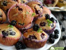 Muffinki z jeżynami 2