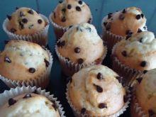 Muffinki z kawałkami czekolady wg Mychy