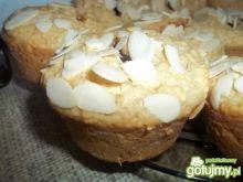Muffinki z kokosem, czekoladą i migdałam
