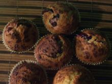 Muffinki z konfiturą i czekoladą