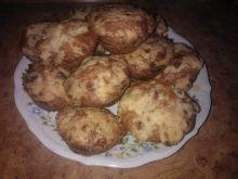 Muffinki z krówkami i jabłkami