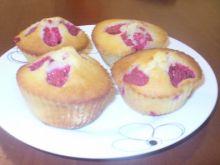 Muffinki z malinami