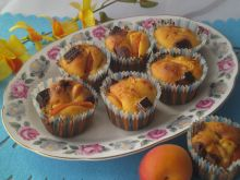 Muffinki z morelami i Prince Polo