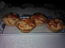 Muffinki z mozzarellą