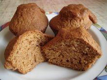 Muffinki z musem dyniowym