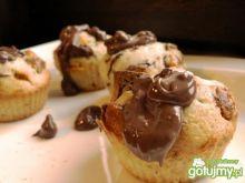 Muffinki z nadzieniem wafelkowym