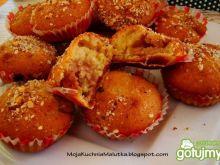Muffinki z nadziewane kaszką manną