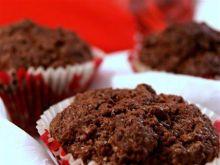 Muffinki z niespodzianką Rafaello