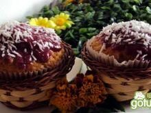 Muffinki z orzechami i kokosem - na zsia