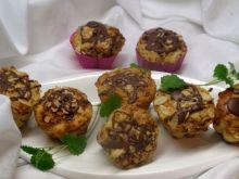Muffinki z płatkami jaglanymi
