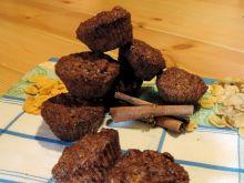 Muffinki z płatkami kukurydzianymi i czekoladą