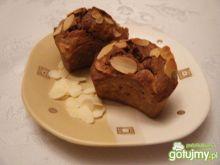 Muffinki z płatkami migdałowymi