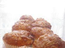 Muffinki z powidłami i migdałami