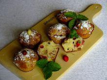 Muffinki z poziomkami