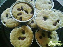 Muffinki z rodzynkami