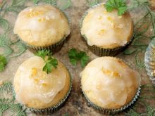 Muffinki z sokiem mandarynkowym