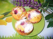 Muffinki z truskawkami i malinami