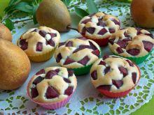 Muffinki z winnymi gruszkami