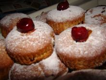 muffinki z wiśniami