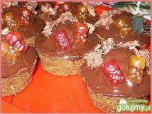 Muffinki z żelkami