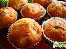 Muffinki z żurawiną i jabłuszkiem
