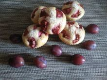 Muffinki że śliwkami