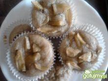 Muffiny bananowe z mąki orkiszowej
