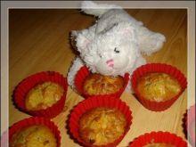 Muffiny cynamonowe kiwi z pomarańczą
