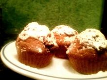 Muffiny cynamonowe z czekoladą