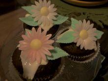 Muffiny czekoladowe z białą czekoladą