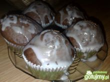 Muffiny czekoladowe z dżemem