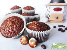Muffiny czekoladowe z orzechami