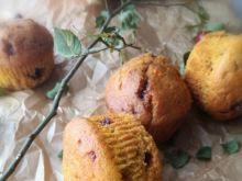 Muffiny dyniowe z pomarańczą i czekoladą