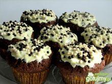 Muffiny kakaowe z twarożkiem