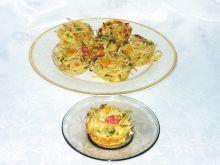 Muffiny makaronowe z rybą