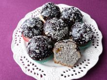 Muffiny makowe ze skórką pomarańczową