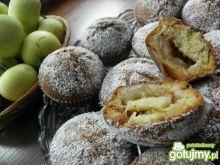 Muffiny o smaku szarlotki