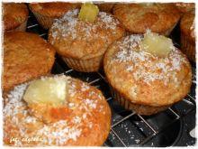 Muffiny pina colada z ananasem