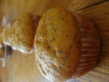 Muffiny pomarańczowe pieguski